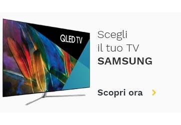 Scegli il tuo TV Samsung